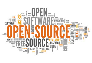 Word Cloud: Open Source Software