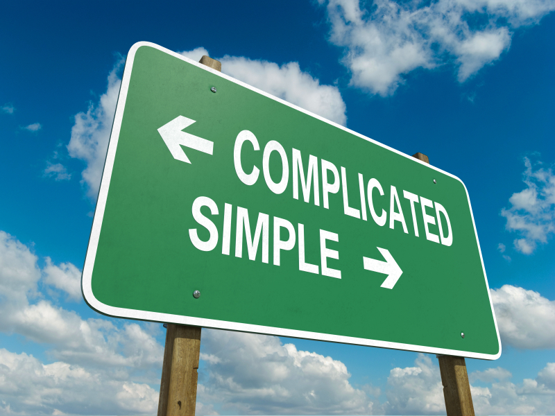 Complicated?  Or Simple?  You choose!