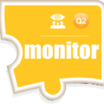 Puzzle Piece Icon for the Assimilation Monitoring component of the Assimilation System Management Suite of products