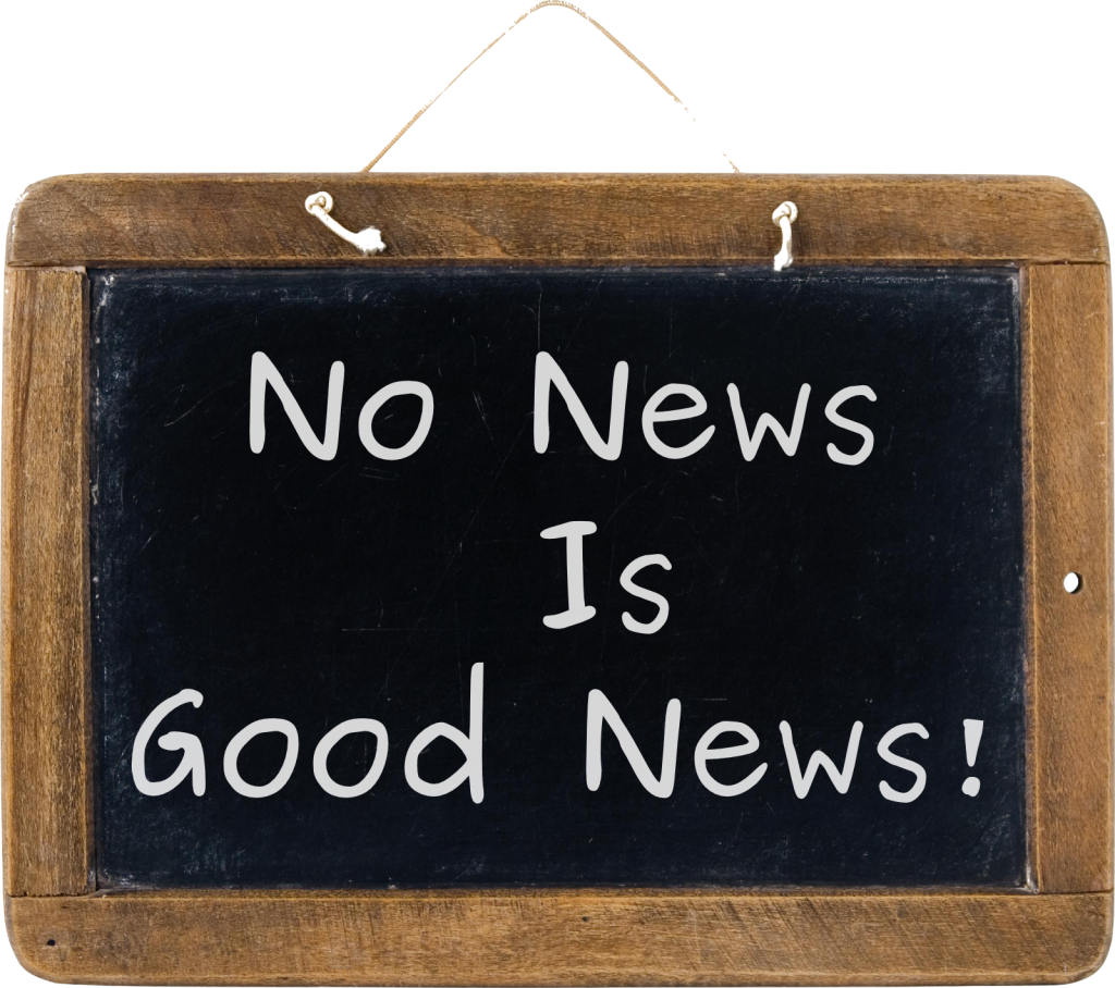 No News Is Good News! This is used in our Reliable No News Is Good News protocol page.