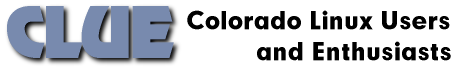 CLUE logo - Colorado Linux Users and Enthusiasts