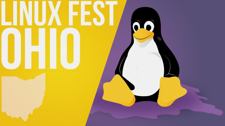 Ohio LinuxFest logo